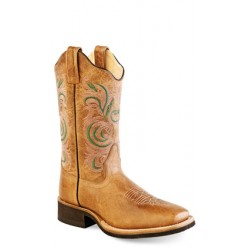 Old West 18115 Ladies Broad Square Toe