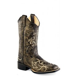 Old West 18117 Ladies Broad Square Toe
