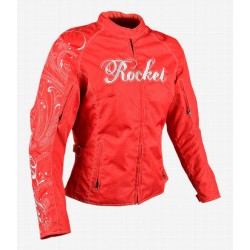 Joe Rocket's Heart Breaker Womens textile jacket red