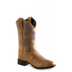 Old West 1936Y Youth Ultra-Flex Western Boots