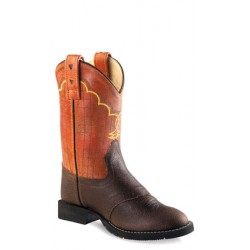 Old West Childrens CW2522 Comfort Wear Western Boots