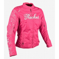 Joe Rocket WOMENS HEART BREAKER TEXTILE JACKET PINK
