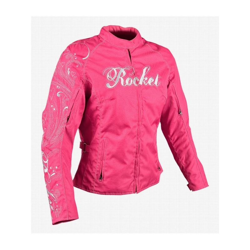 Heartbreaker 11.0 womens textile jkt pink
