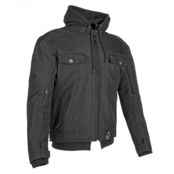 GREAT WHITE NORTH TEXTILE JKT BLK