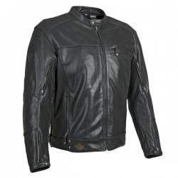Joe Rocket KING CRUISER 2.0 Leather Jacket Black