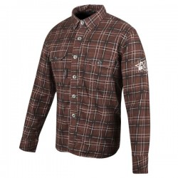 Joe Rocket GASTOWN ARMOURED MOTO SHIRT BROWN
