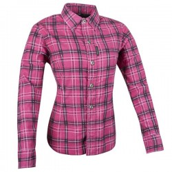 Joe Rocket Womens ROXIE ARMOURED SHIRT PINK