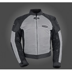 Tour Master's-Intake Air 3 mesh jacket-silver