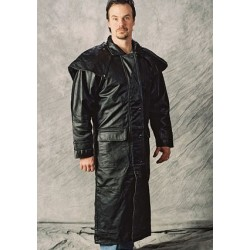 Leather Outback Duster Coat