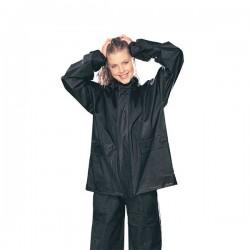Tourmaster PVC 2 Piece Rain Suit Black