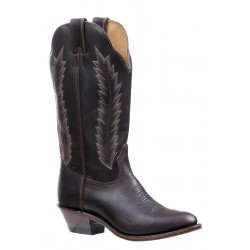 Old West CCY8110 Youth Black Western Pointy Toe Boots