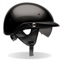 BELL-PITBOSS solid black Helmet