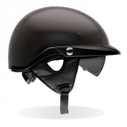 BELL-PITBOSS solid matte black Helmet