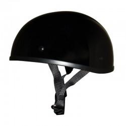 Akoury AK-66 Gloss NO Peak SOA Style Lightest Smallest DOT Beanie Helmet