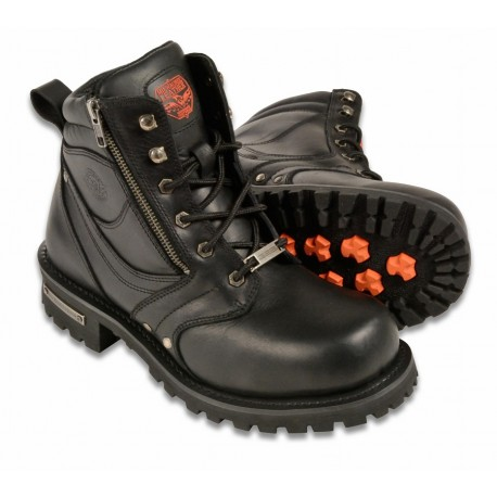 Milwaukee Leather Men S Motorcycle Boots Mbm9050