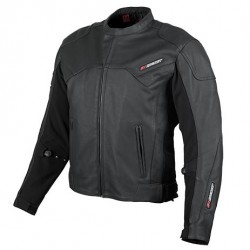 Joe Rocket SONIC 3.0 Leather Jacket Black