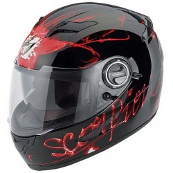 Scorpion EXO-500 Black/Red Helmet