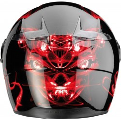 Scorpion- EXO 500 black/red