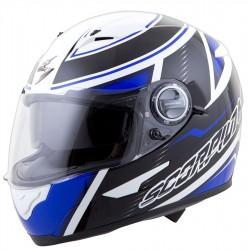 Scorpion EXO-500 Corsica Helmet White/Blue/Black
