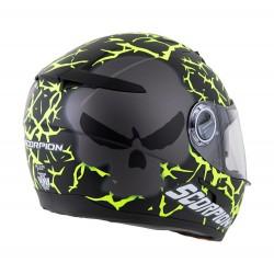 Scorpion EXO-500 Helmet NEON Numb Skull