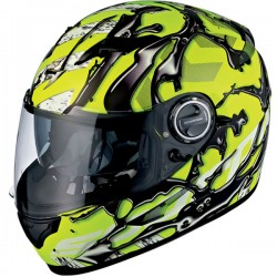 Scorpion EXO-500 OIL Helmet NEON