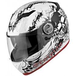 Scorpion- EXO 500 Skull Helmet - White