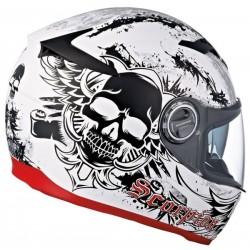 Scorpion- EXO 500 Skull - White