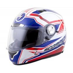 Scorpion EXO 1100 JAG Helmet Red/White/Blue