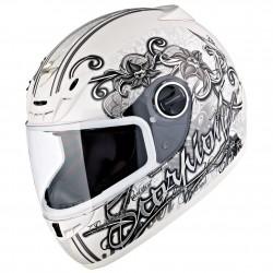 Scorpion- EXO 400 ANN white Helmet