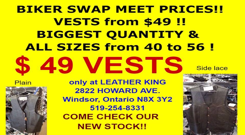 Hot in-store savings on select vests.