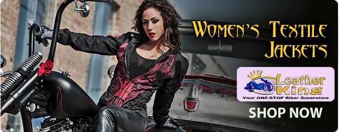 Womens Textile Jackets